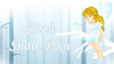 Little snow pixie